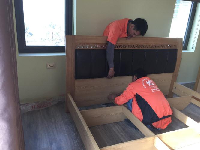 Dịch vụ chuyển nhà lắp đặt giường